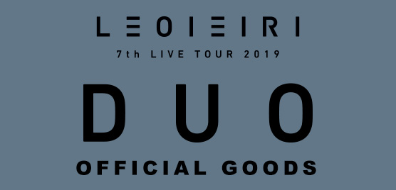 LEO IEIRI 7th LIVE TOUR 2019 DUO OFFICIAL GOODS